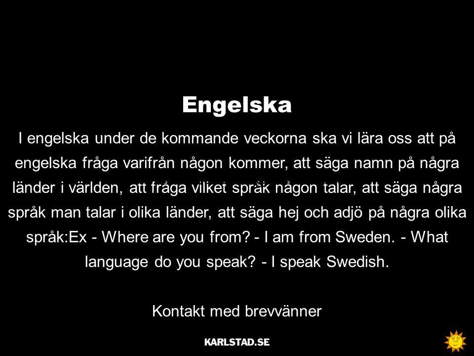 Musik Union sång (kanon, växelsång) Ensemblespel Högtidssånger (nationalsången) mailto:servicedesk@karlstad.se