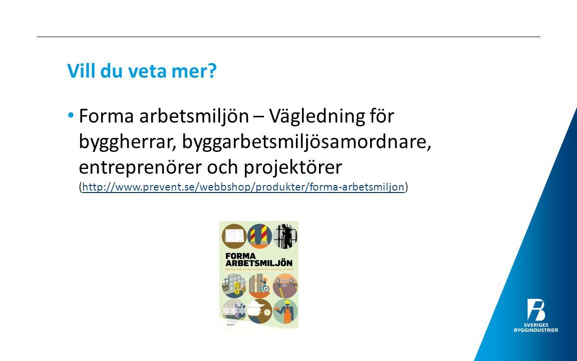 Kontaktuppgifter – Lars Björkeström Sveriges Byggindustrier, Ekmansgatan 1, 411 32 Göteborg Telefon: 031 - 708 41 07 Mobiltelefon: 070 - 628 41 07 E-post: lars.bjorkestrom@sverigesbyggindustrier.selars.bjorkestrom@sverigesbyggindustrier.se