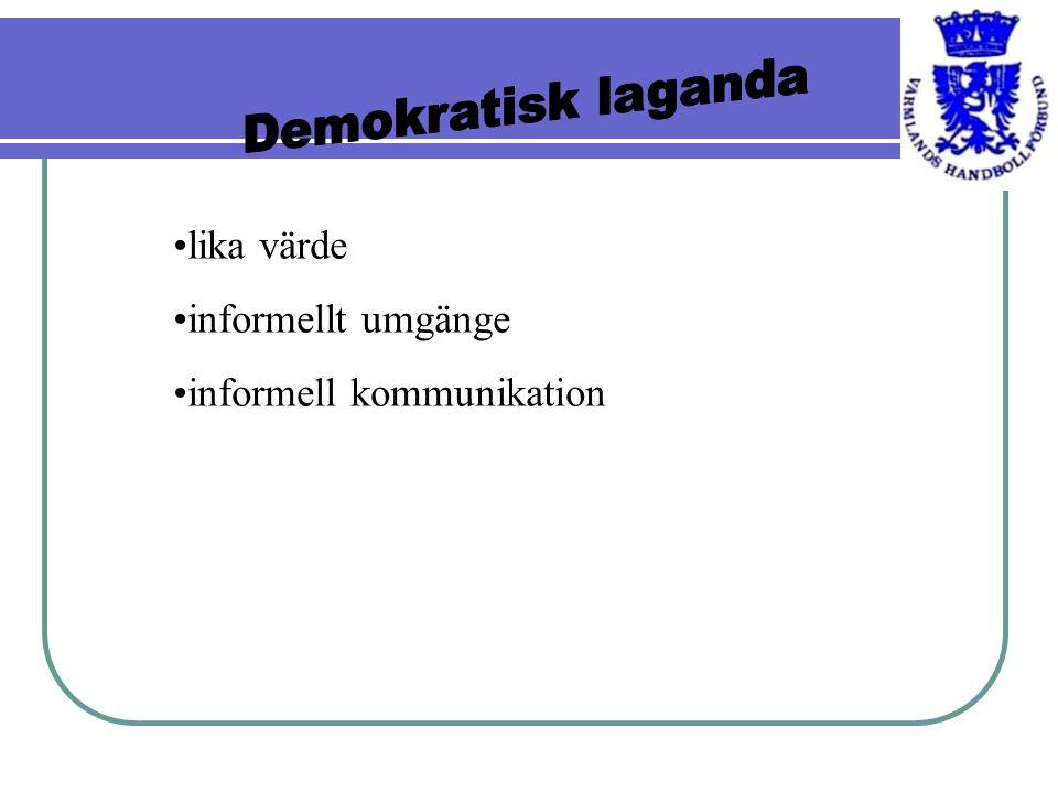 lika värde informellt umgänge informell kommunikation