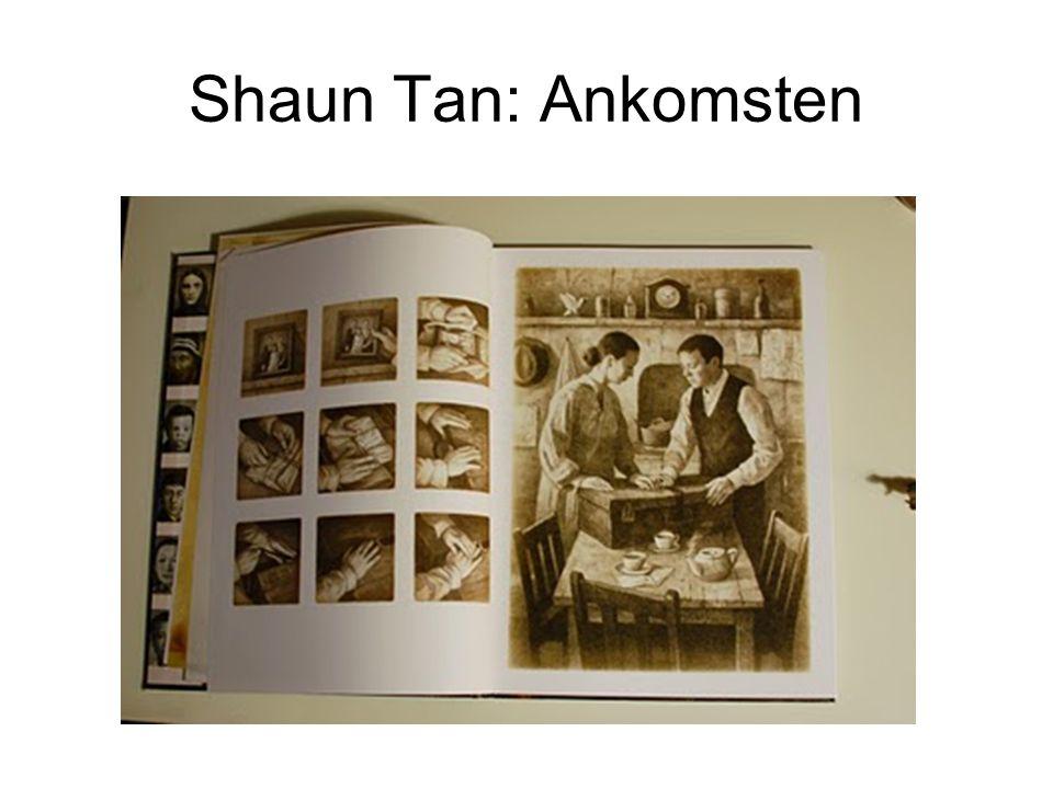 Shaun Tan: Ankomsten