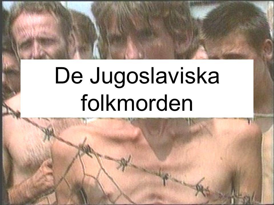 De Jugoslaviska folkmorden