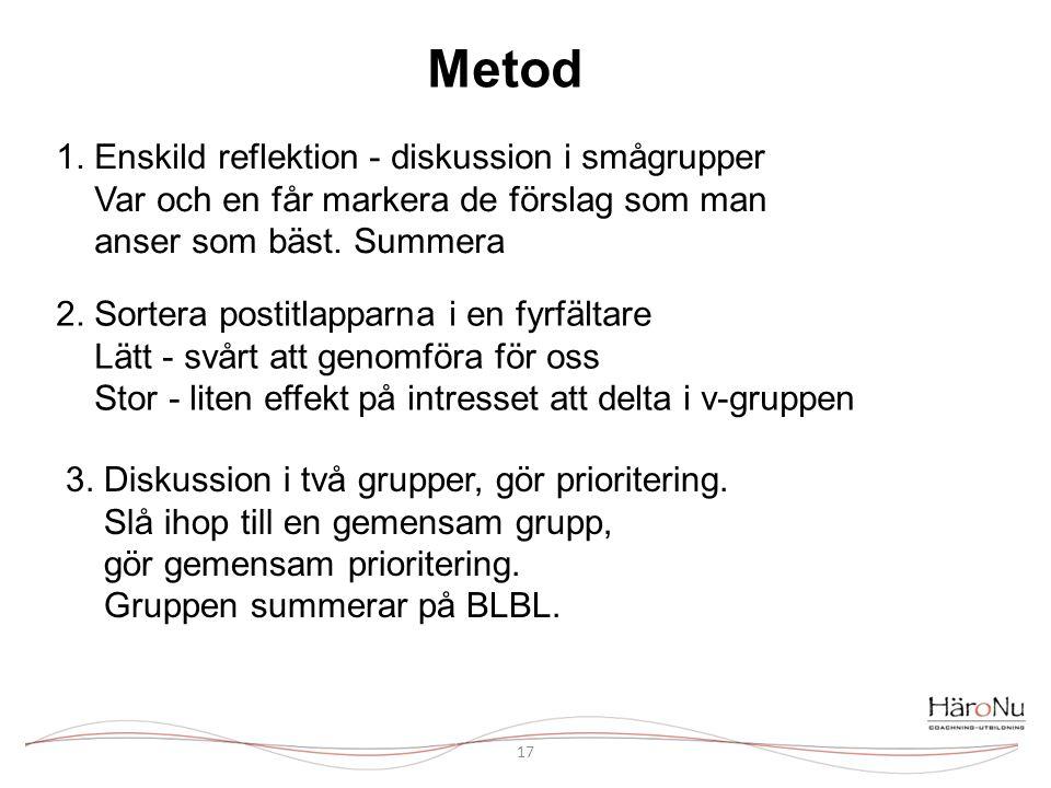 Metod 17 1.