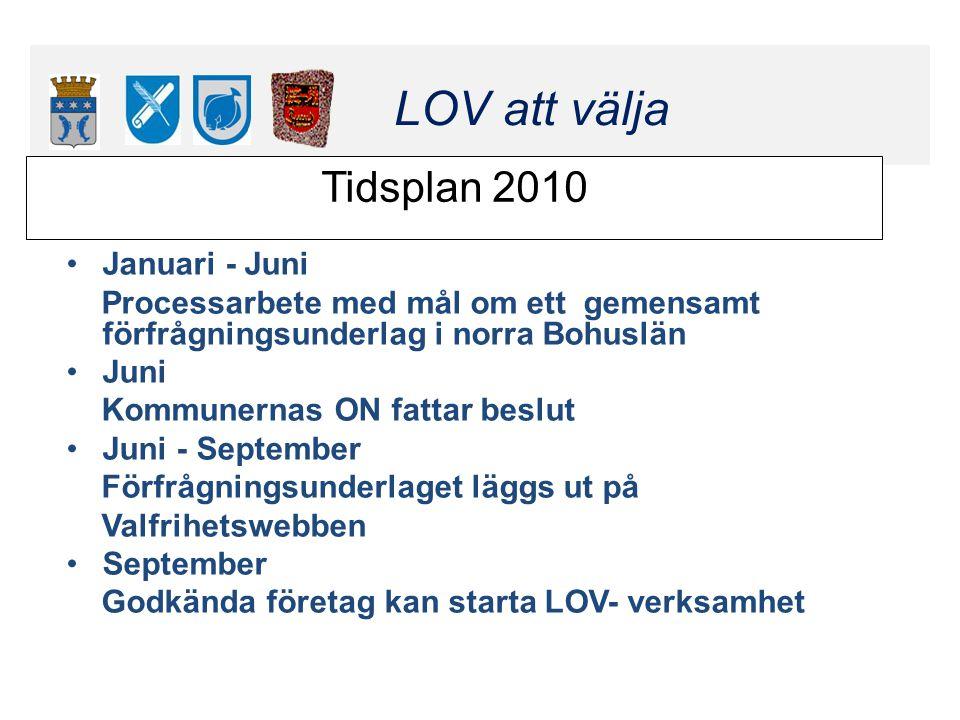 Klicka här för att ändra format LOV att välja Klicka här för att ändra format LOV att välja Tidsplan 2010 Januari - Juni Processarbete med mål om ett