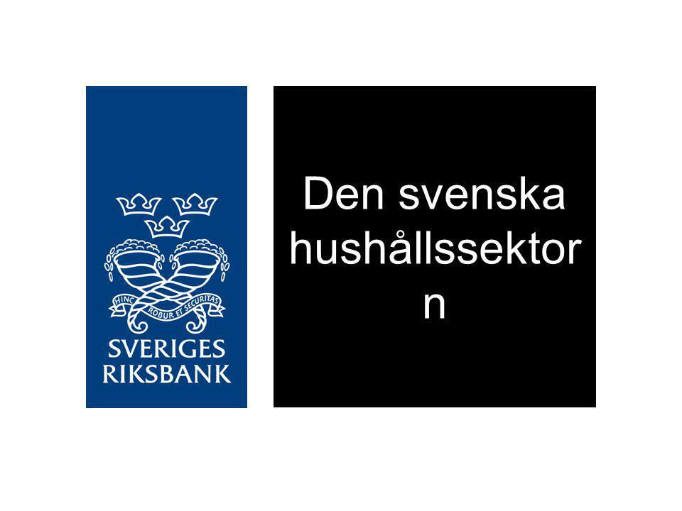 Den svenska hushållssektor n
