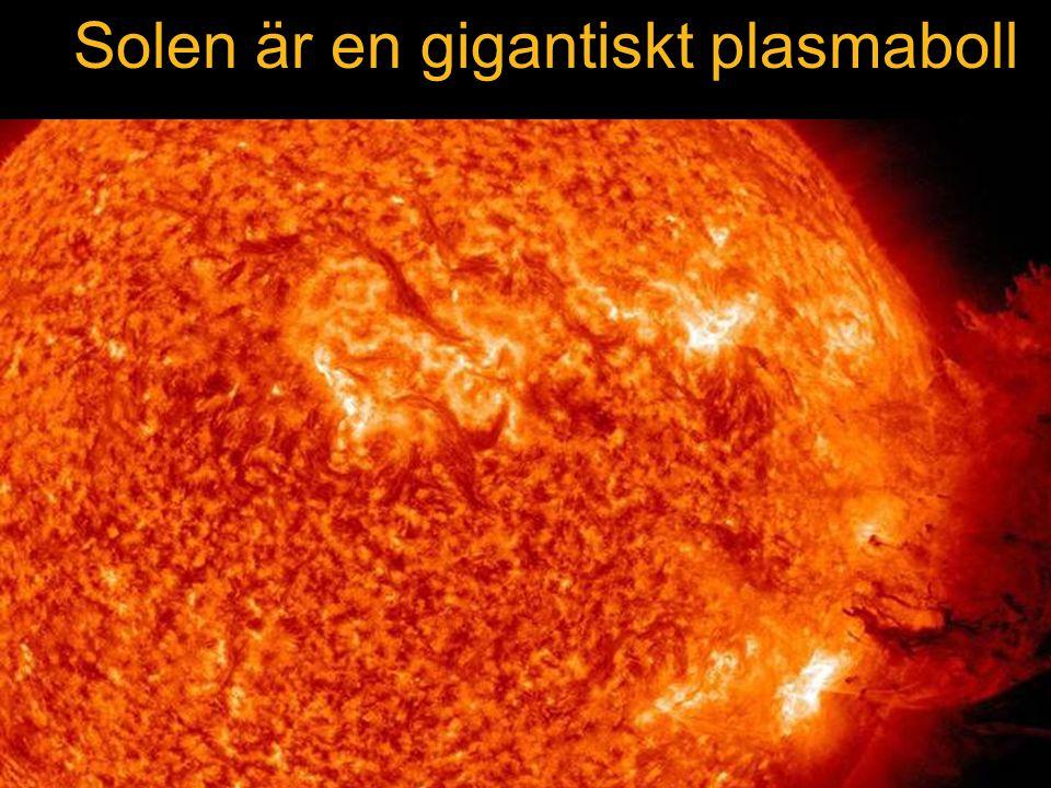 SOHO satellite NASA Solen Solen är en gigantiskt plasmaboll