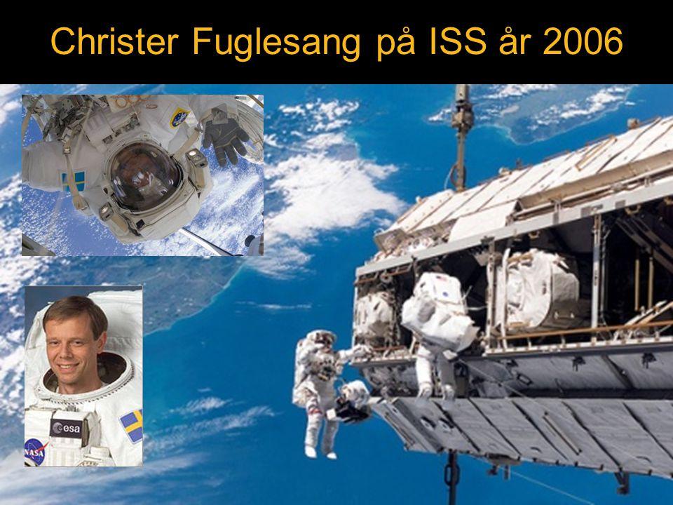 Christer Fuglesang på ISS år 2006