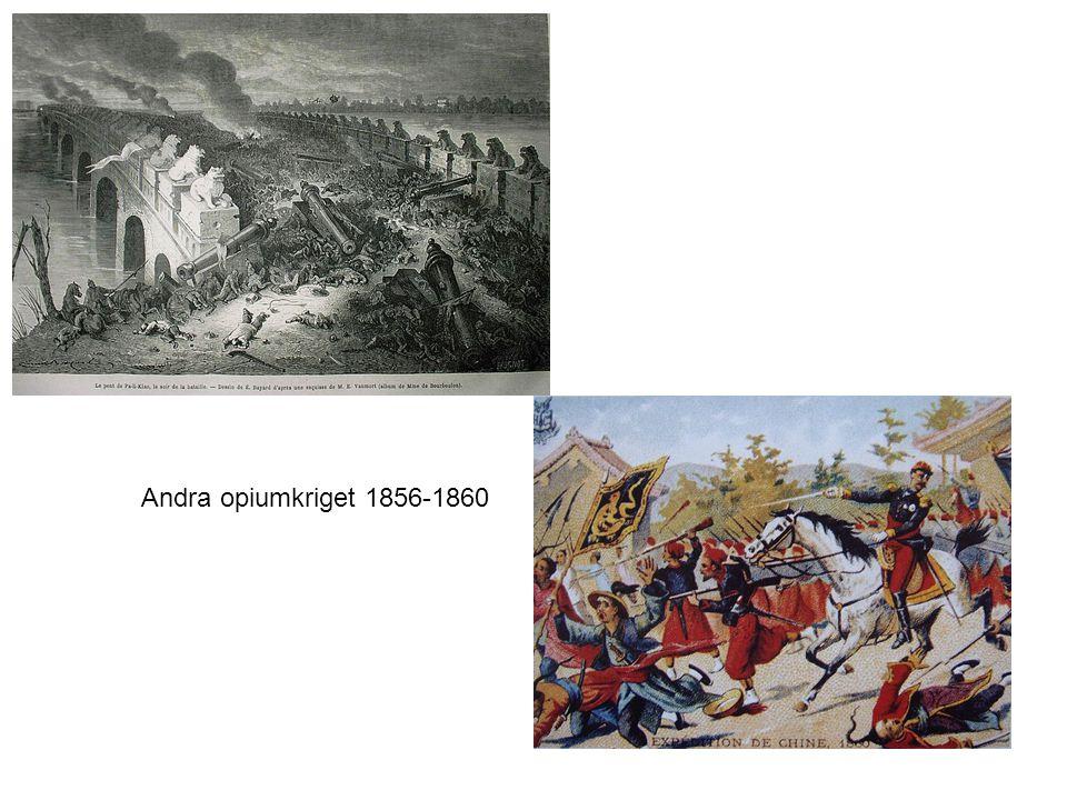 Andra opiumkriget 1856-1860