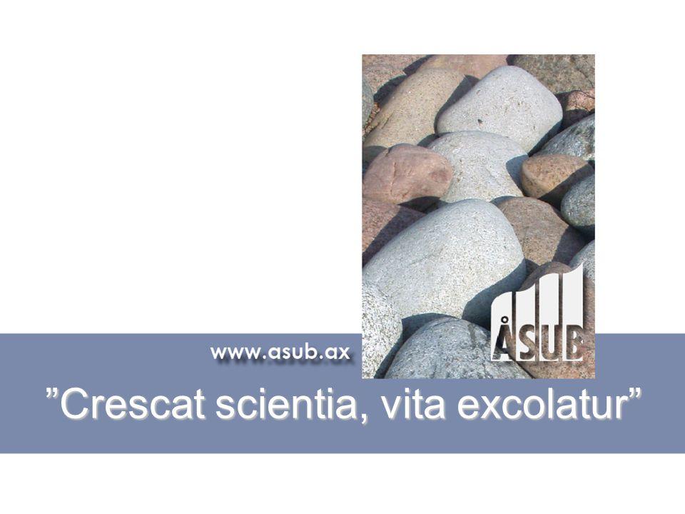"""""""Crescat scientia, vita excolatur"""""""