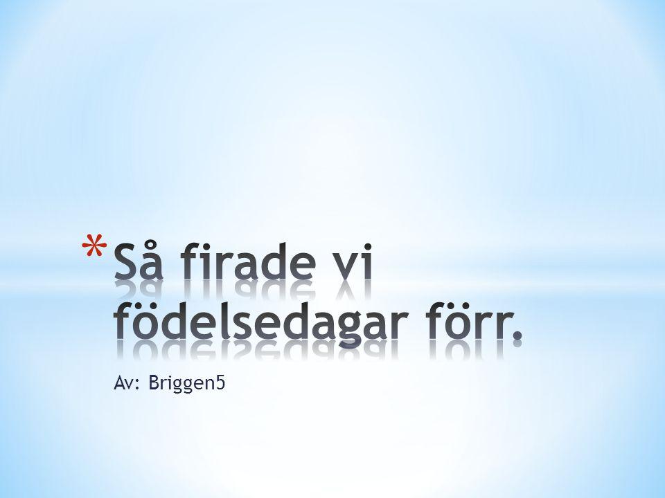 Av: Briggen5