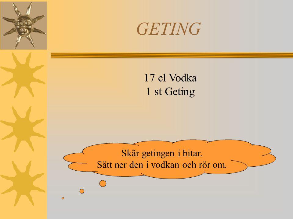 VARGTASS 1 liter Vodka 1 st Lingon OBS.