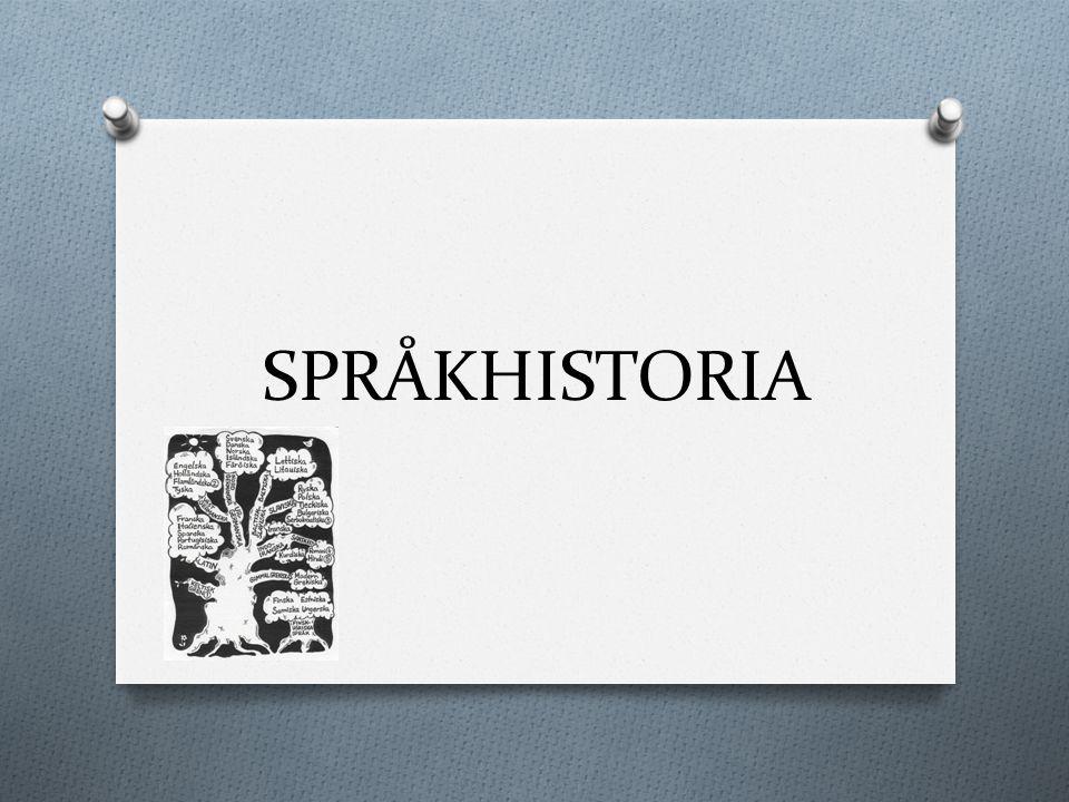 Svenskans historia De indoeuropeiska språken Idag talar ca tre miljarder indoeuropeiska språk Ursprung i närheten av Kaspiska Havet Vandring åt olika håll