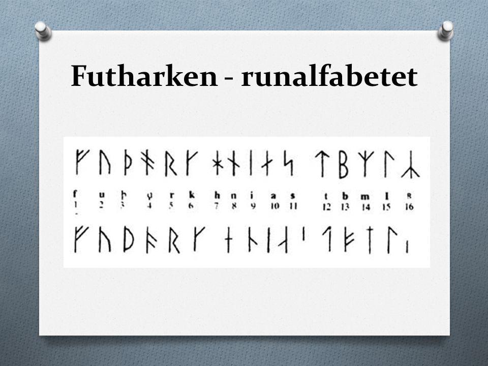 Futharken - runalfabetet