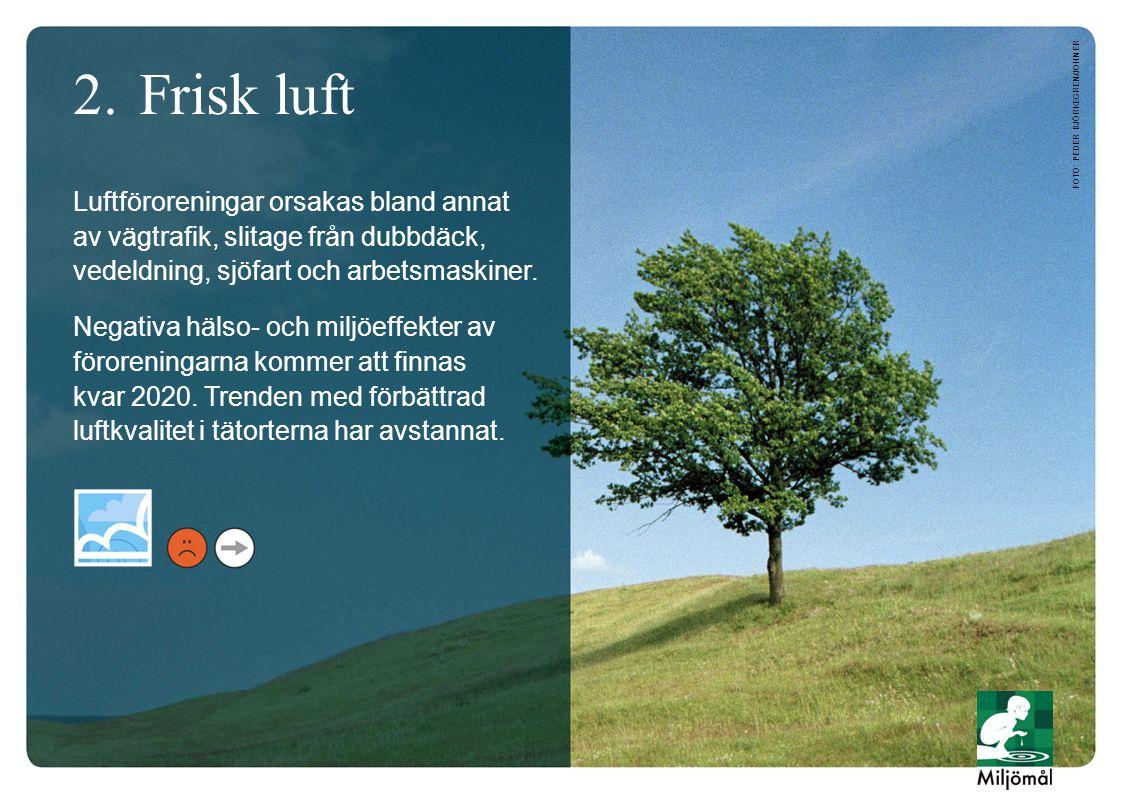 3.Bara naturlig försurning Försurningen minskar.