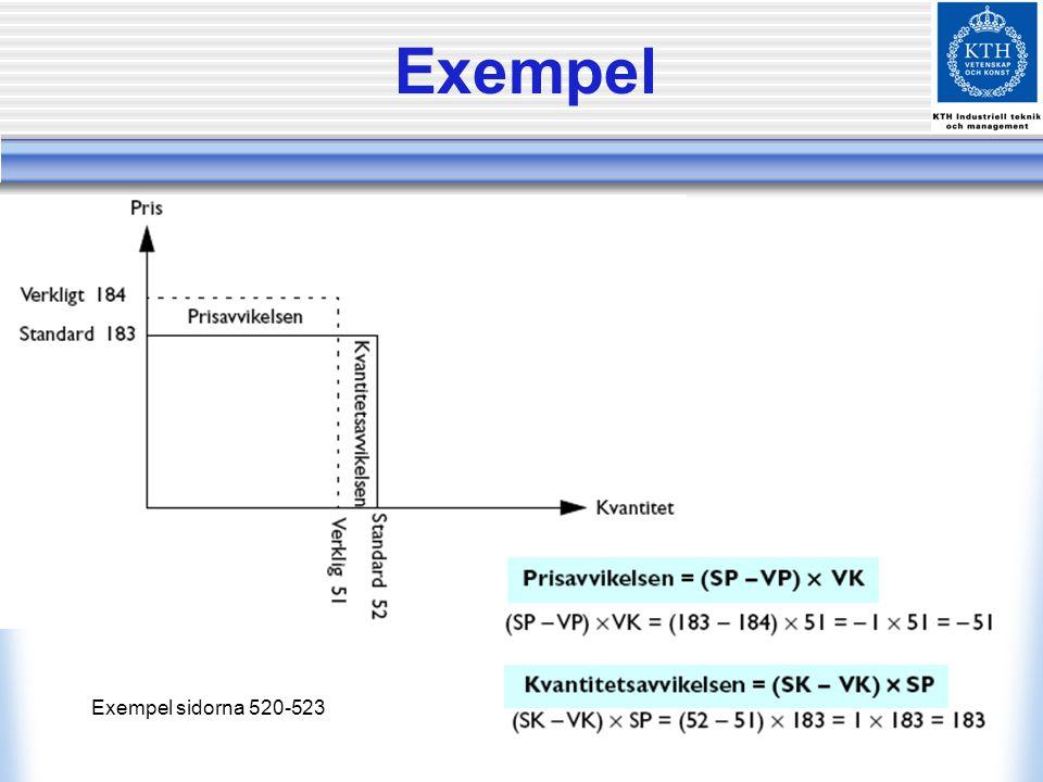 Standard och redovisning Exempel sidorna 530-533 372,00 15,50 372,00 15,50 12,00 - 12,00 - 15,50