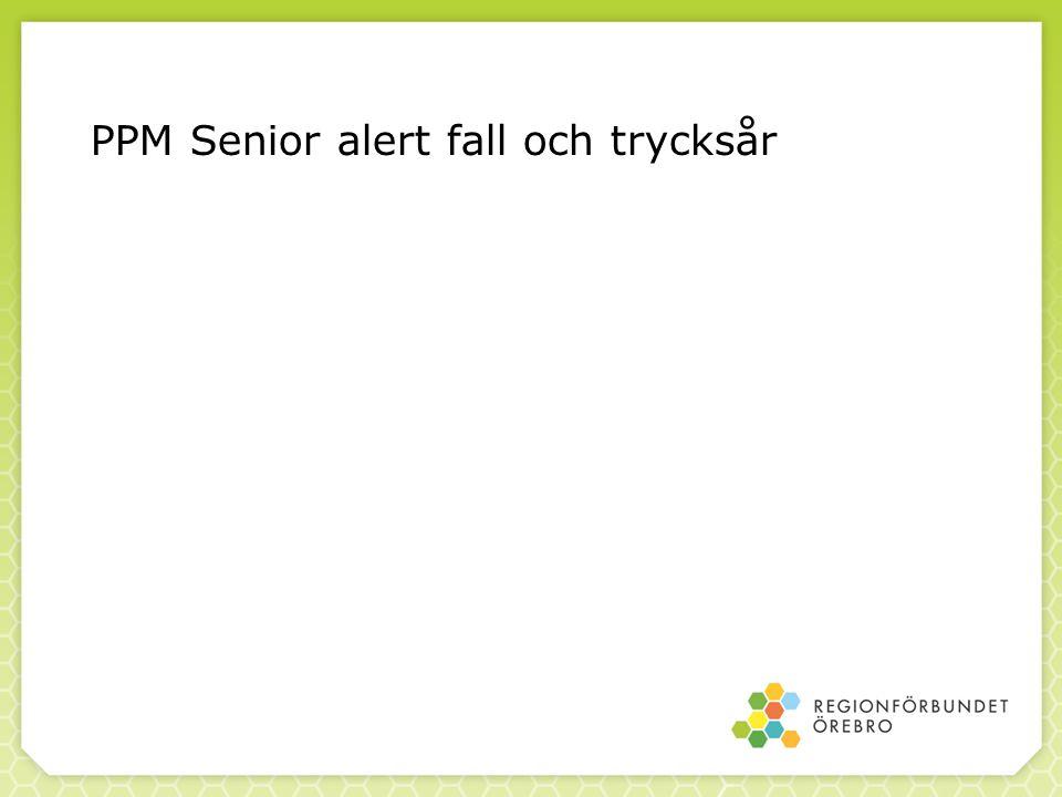 PPM Senior alert fall och trycksår