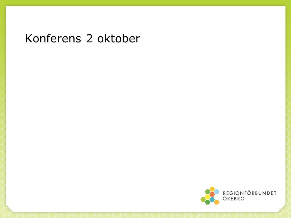 Konferens 2 oktober