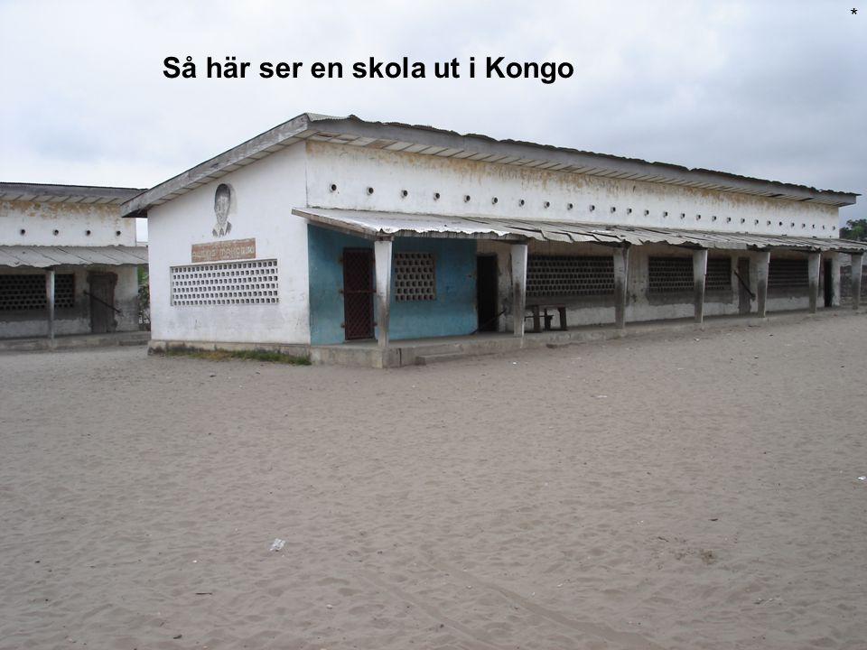 Så här ser en skola ut i Kongo *