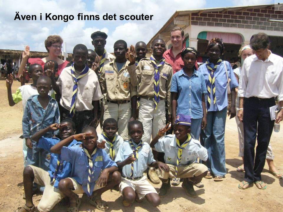 Även i Kongo finns det scouter *
