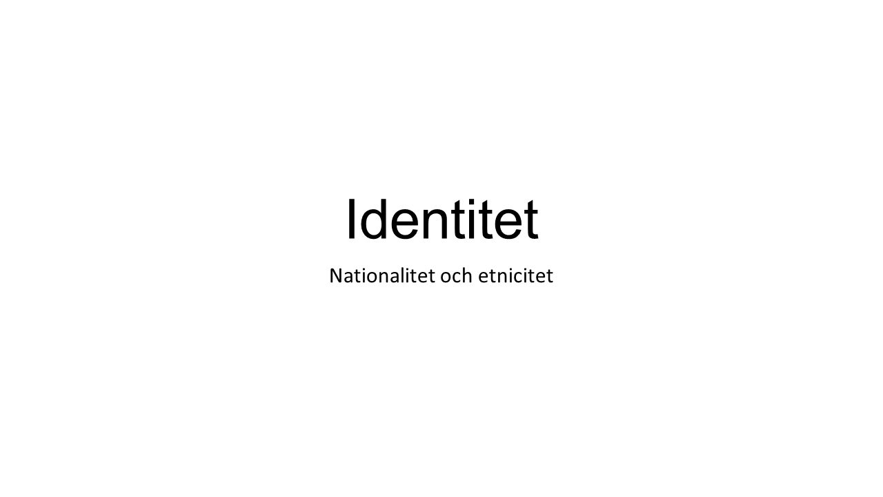 Om du får tid över… Efterkonstruktion av svensk historia http://sverigesradio.se/sida/artikel.aspx?programid=503&artikel=5827503http://sverigesradio.se/sida/artikel.aspx?programid=503&artikel=5827503 (6 min) Stereotypisering http://sverigesradio.se/sida/artikel.aspx?programid=503&artikel=5954700http://sverigesradio.se/sida/artikel.aspx?programid=503&artikel=5954700 (11 min) Mexamericana http://sverigesradio.se/sida/artikel.aspx?programid=503&artikel=5968326http://sverigesradio.se/sida/artikel.aspx?programid=503&artikel=5968326 (7 min)