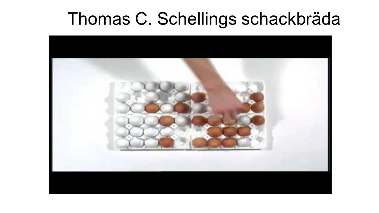 Thomas C. Schellings schackbräda