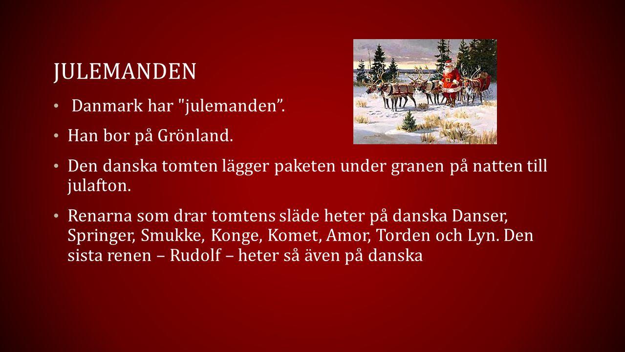 JULEMANDEN Danmark har