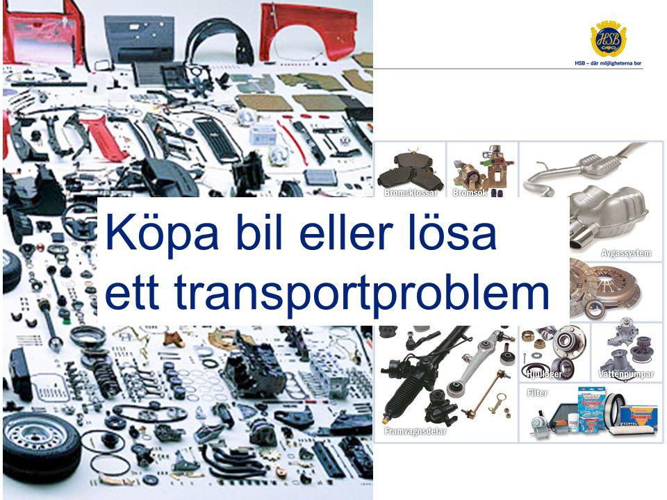 Köpa bil eller lösa ett transportproblem