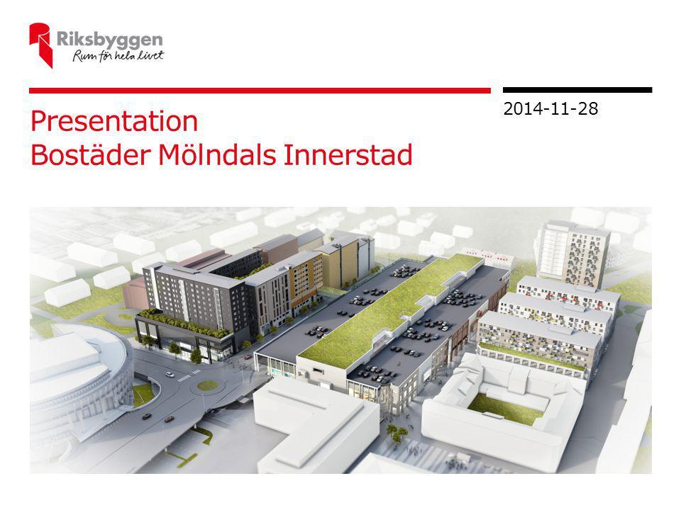 Presentation Bostäder Mölndals Innerstad 2014-11-28