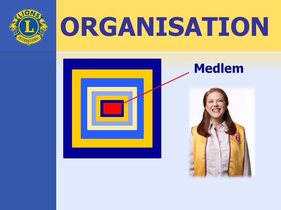 ORGANISATION Medlem
