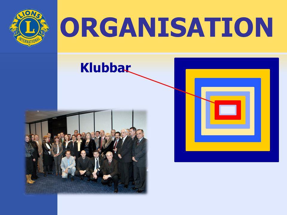 ORGANISATION Klubbar