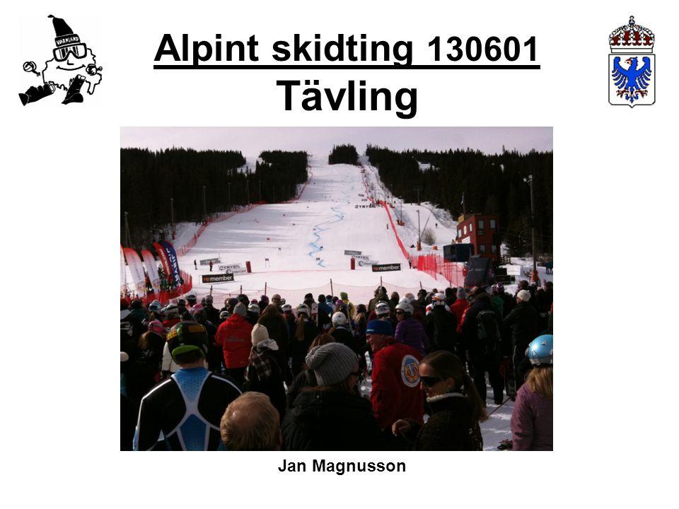 Alpint skidting 130601 Tävling Jan Magnusson