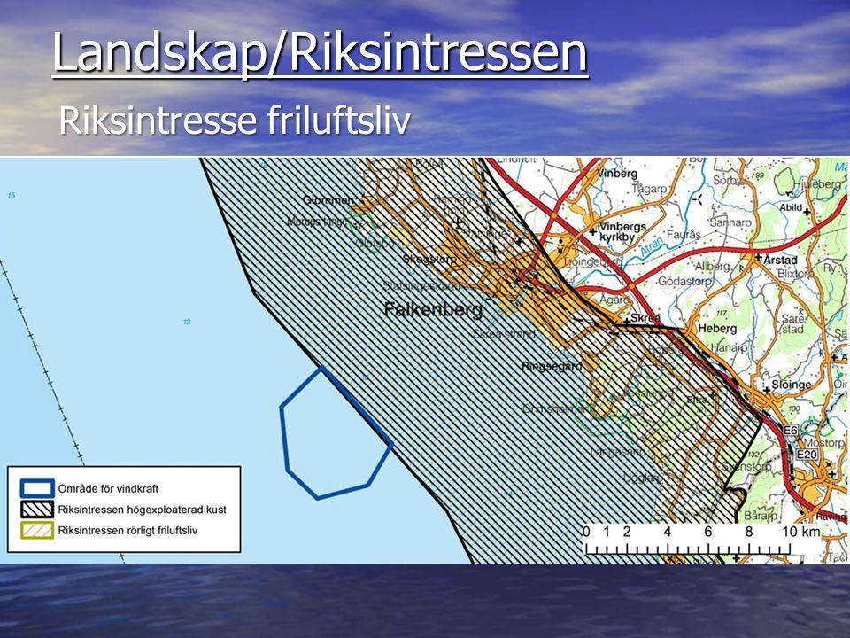 Landskap/Riksintressen Riksintresse naturreservat, Natura 2000
