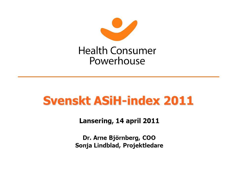 Särdrag Health Consumer Powerhouse arbetar nära nyckelaktörer som: Regeringar och offentliga myndigheter Patient- och konsumentorganisationer Vårdgivare Läkemedelsföretag Vi väljer våra kunder; finansiering genom unrestricted grants och försäljning.