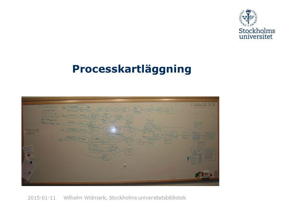 Processkartläggning 2015-01-11Wilhelm Widmark, Stockholms universitetsbibliotek