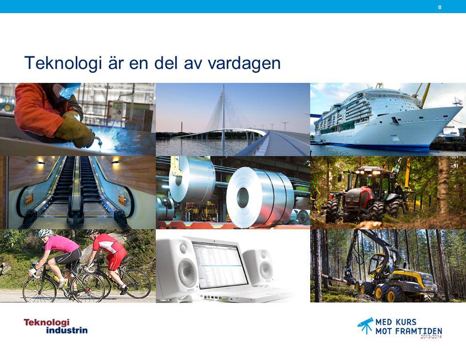 2013-2014 88 Teknologi är en del av vardagen