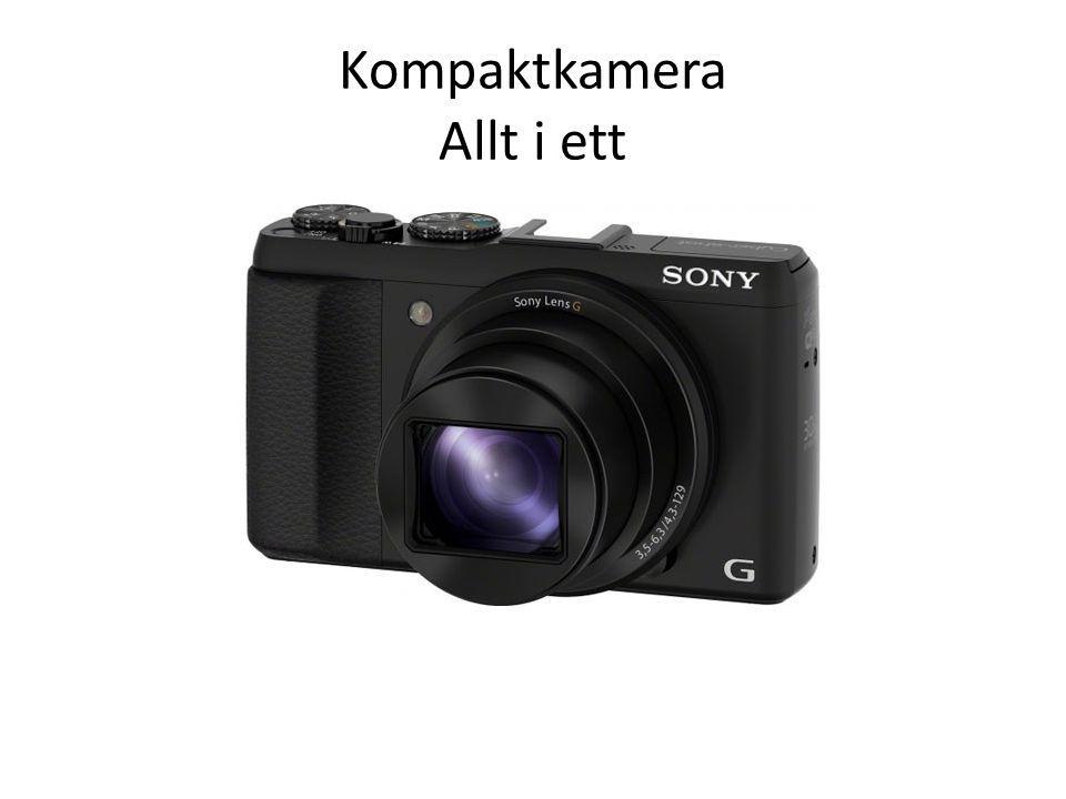 Kompaktkamera Allt i ett