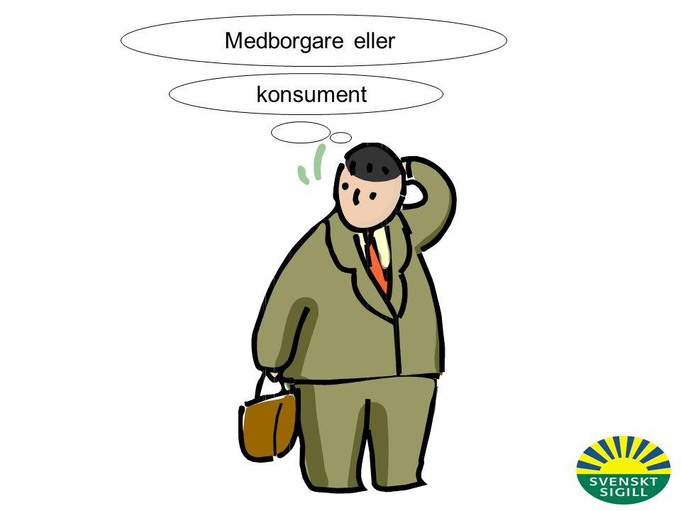 Medborgarroll konsumentroll Värderingar Beteende Vad tycker jag om Sveriges/EU:s jordbruks- och miljöpolitik.