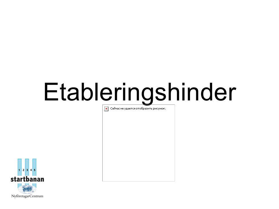 Etableringshinder
