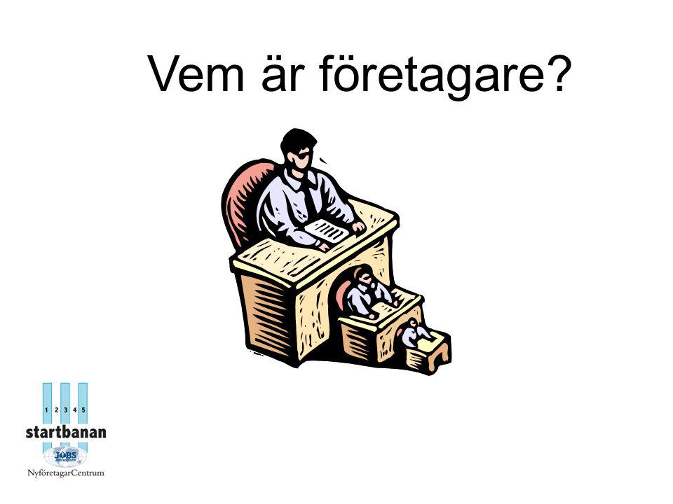 Caseförslag: 1.Butik 2. Cafe 3.IT-service 4.Bilverkstad 5.Import av väskor 6.