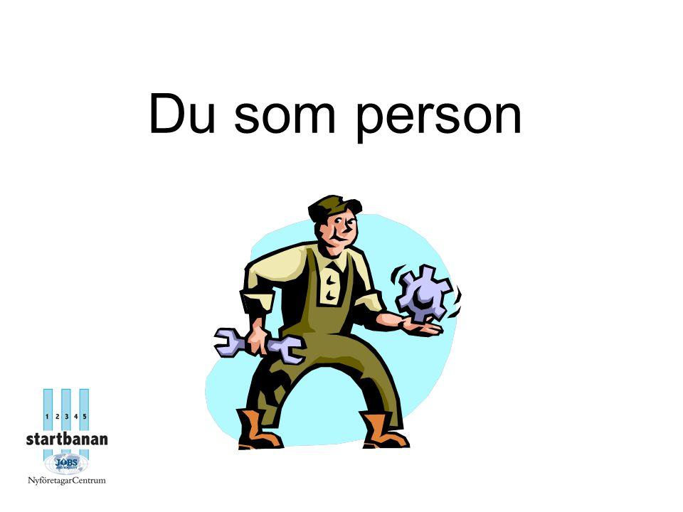 Du som person