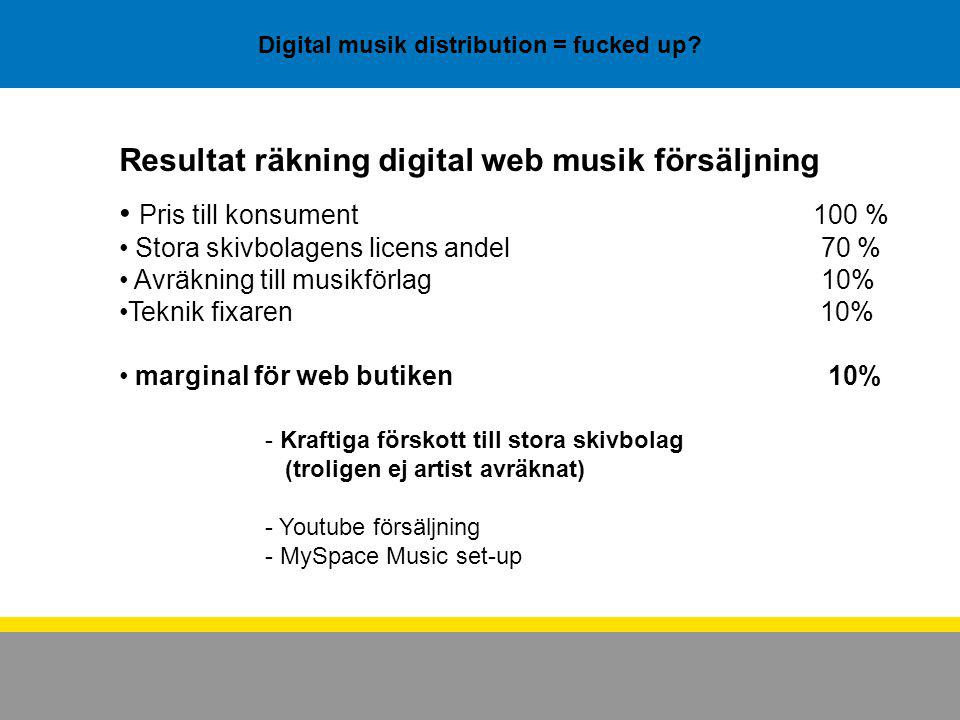 Digital musik distribution = fucked up.
