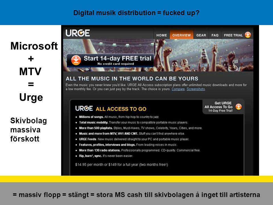 Digital musik distribution = fucked up.YouTube och MySpace nu i kinesiska versioner...