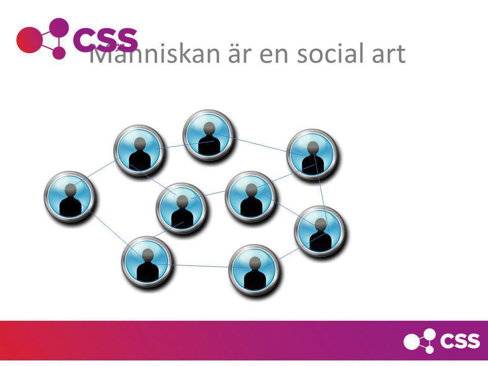 Människan är en social art