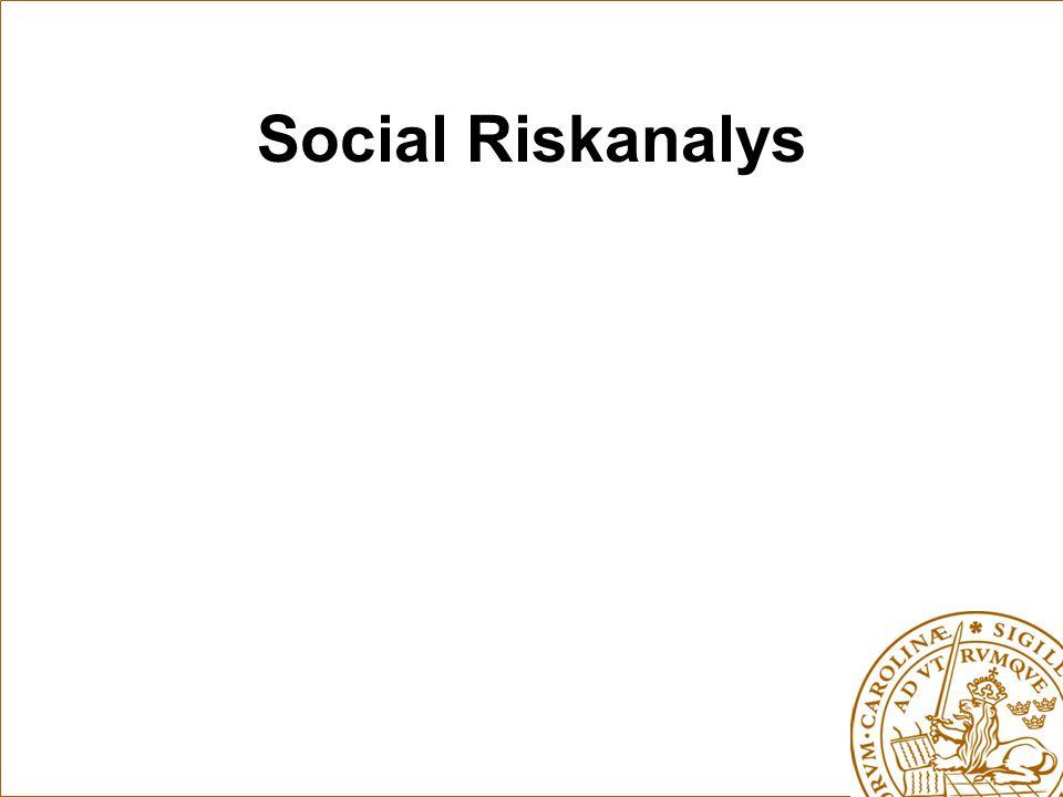 Social Riskanalys