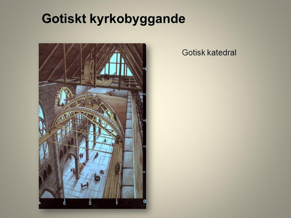 Gotisk katedral Gotiskt kyrkobyggande