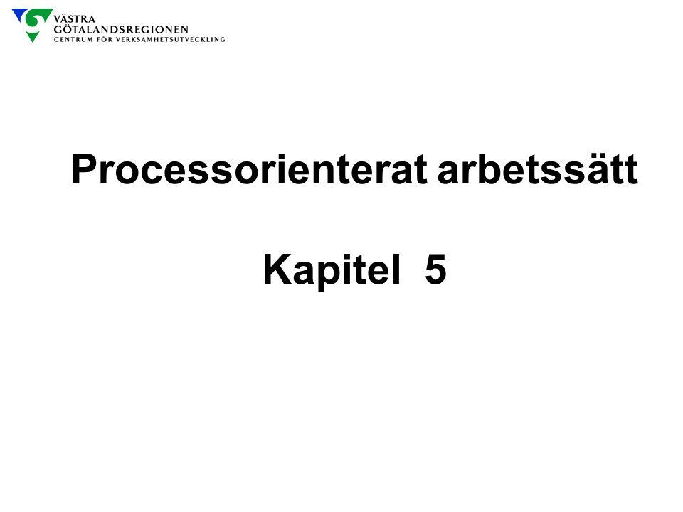 Processorienterat arbetssätt Kapitel 5