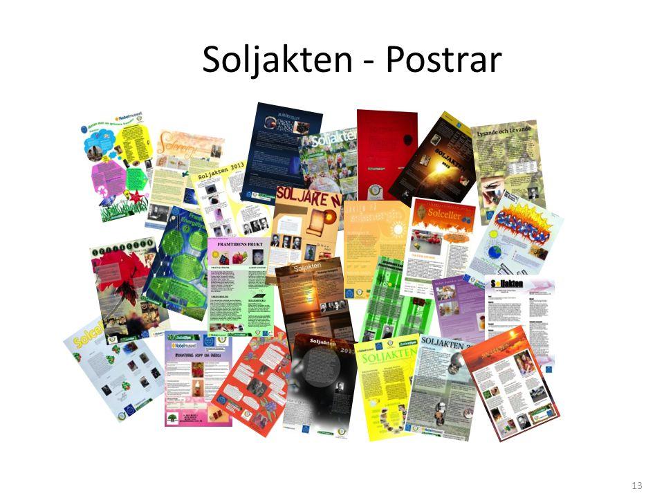 Soljakten - Postrar 13