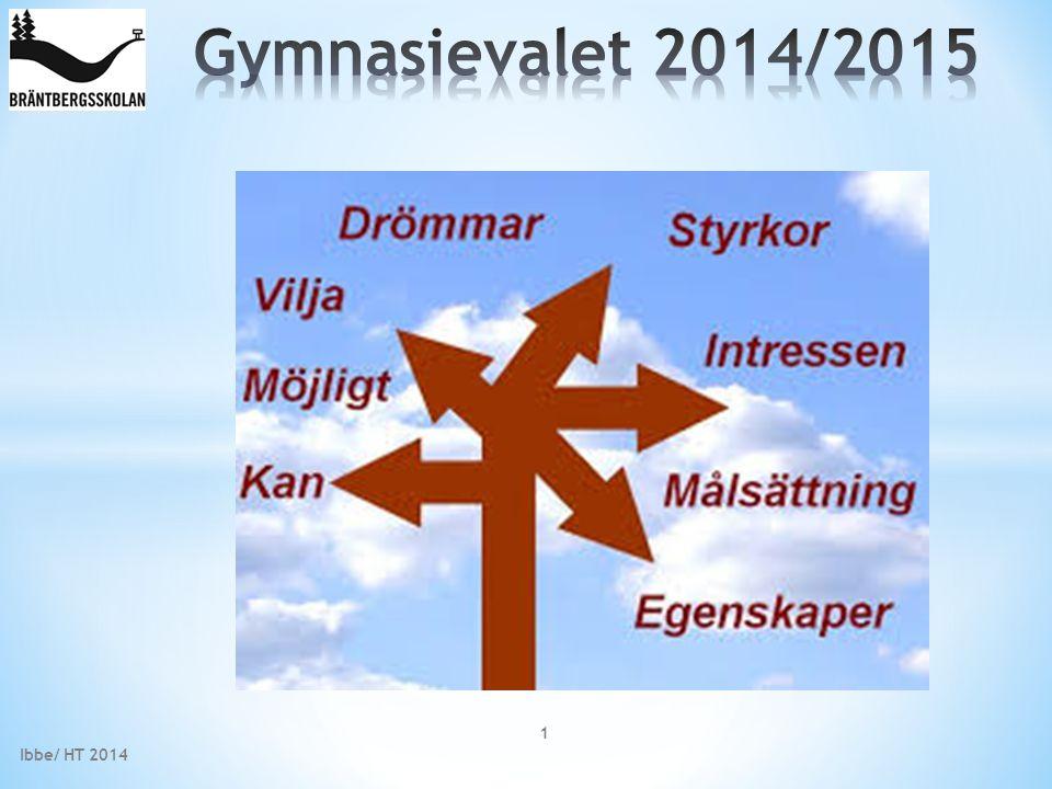 www.gymnasieantagningen.nu/ www.gymnasieinfo.se www.youtube.com/watch?v=0ZHgeswUI4k www.studera.nu www.utbildningsinfo.se www.skolverket.se www.allastudier.se www.sverigesviktigastejobb.se www.saco.se Ibbe/ HT 2014 22