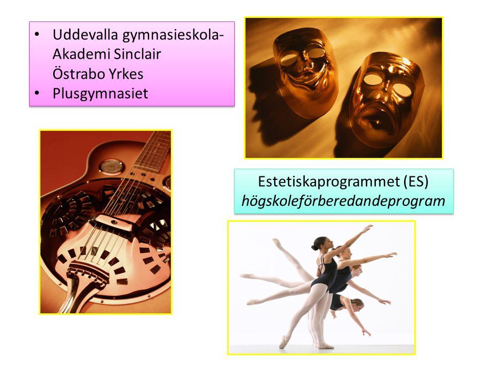 Uddevalla gymnasieskola- Akademi Sinclair Östrabo Yrkes Plusgymnasiet Uddevalla gymnasieskola- Akademi Sinclair Östrabo Yrkes Plusgymnasiet Estetiskap