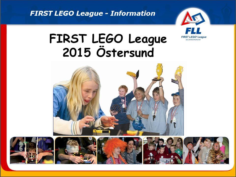 Lördagen den 7 november: FIRST LEGO League-turnering på Mittuniversitetets campus i Östersund.