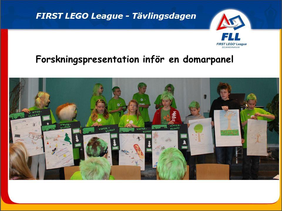 FIRST LEGO League - Kungligt intresse! Även Victoria och Daniel gillar FLL!